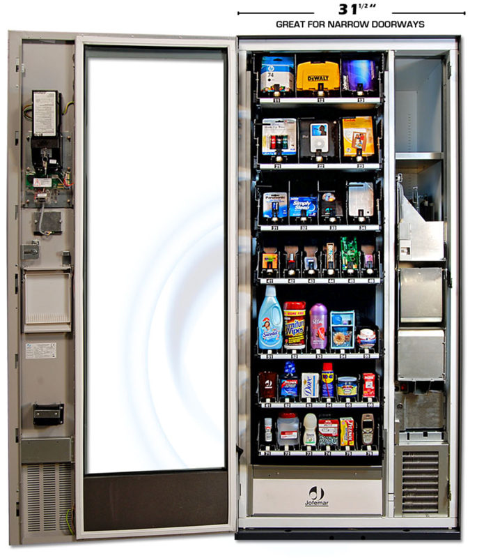 Why Should I Consider A Combo Snack + Drink Vending Machine?