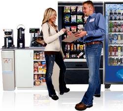 vending locator service
