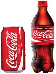 vending soda pop cans bottles