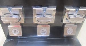 Trio candy vending machine coin mechs