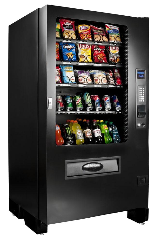 snack vending machine manuals