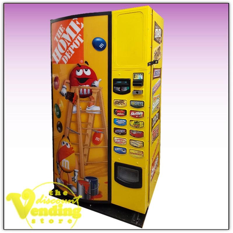refrigerated snack machine