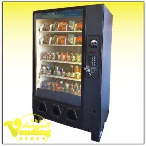 Dixie Narco combo vending machine