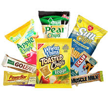 Healthier options for vending machines