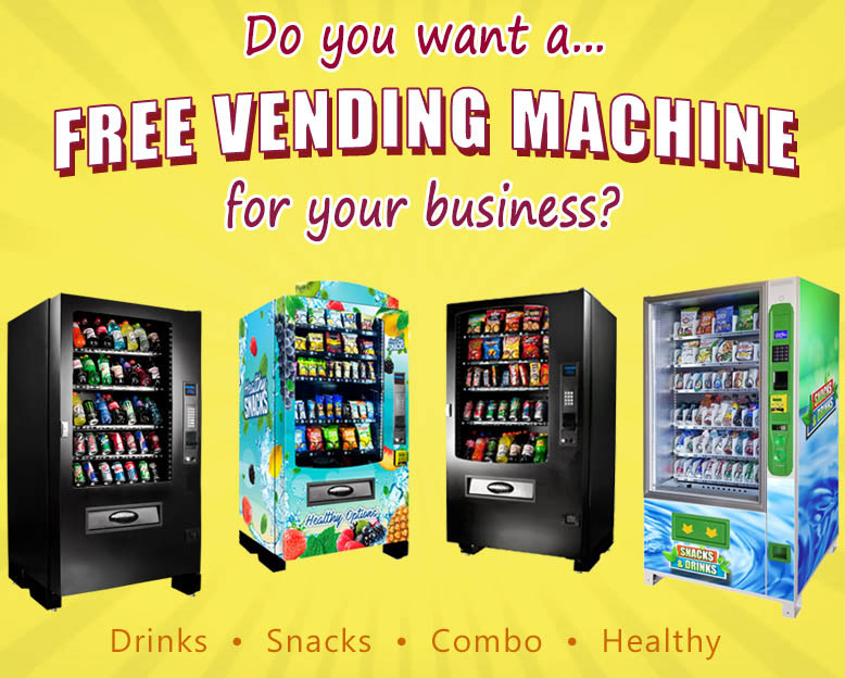Do You Want a Free Vending Machine for your Business?