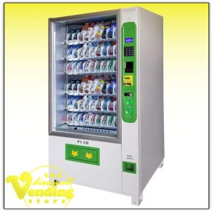 White Duravend Drink vending machine