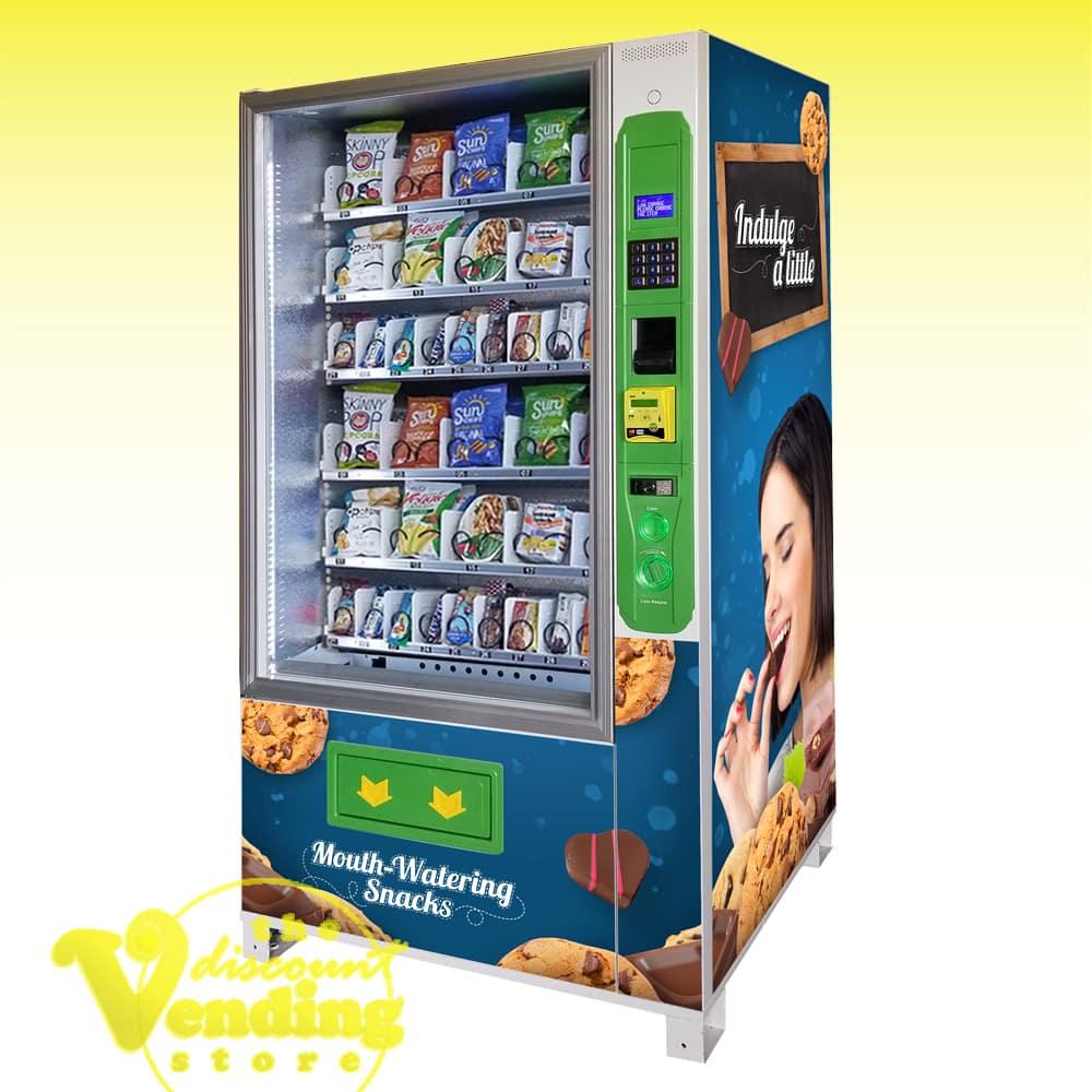 DVS Duravend 40S Refrigerated Snack Vending Machine Photo
