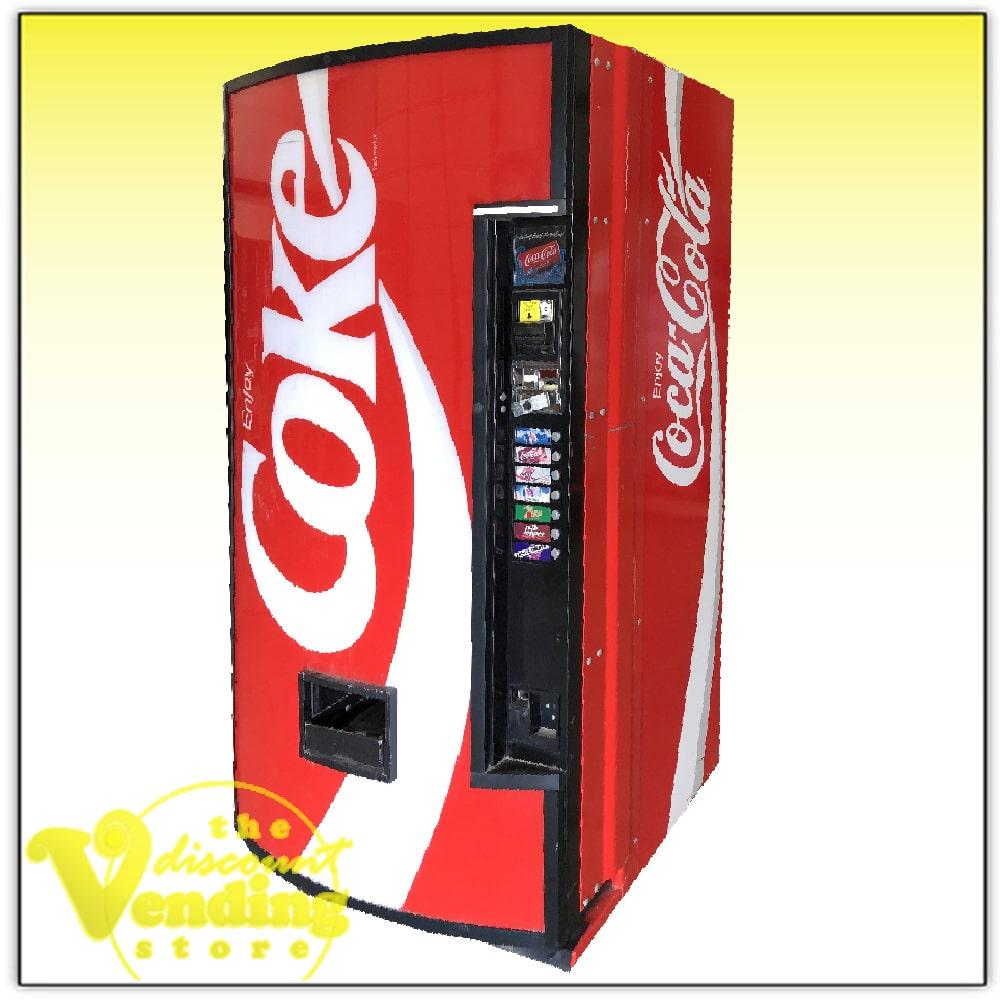 Pop Machine For Sale >> Used Coke Branded Soda Pop Vending Machine For Sale
