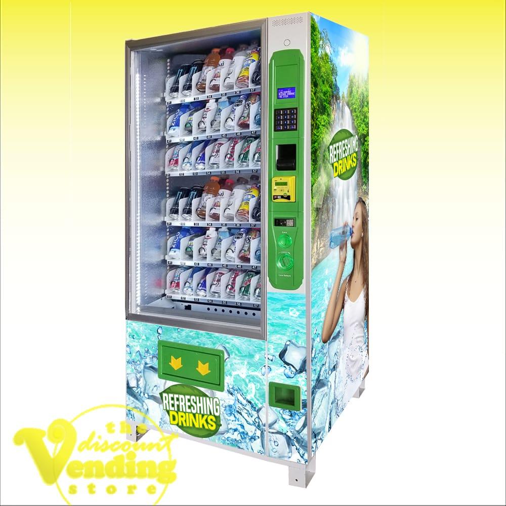 DVS Duravend 36B Drink Vending Machine Photo