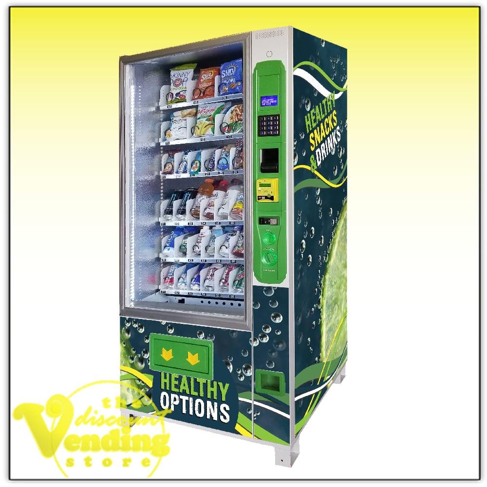 New DVS Duravend 3C Combo Vending Machine Photo