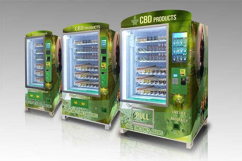 Omni Series CBD Vending Machines