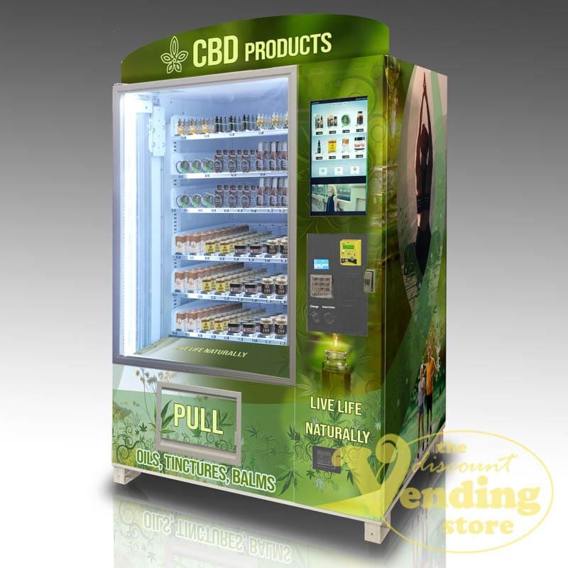 The OMNI CBD Elite vending machine