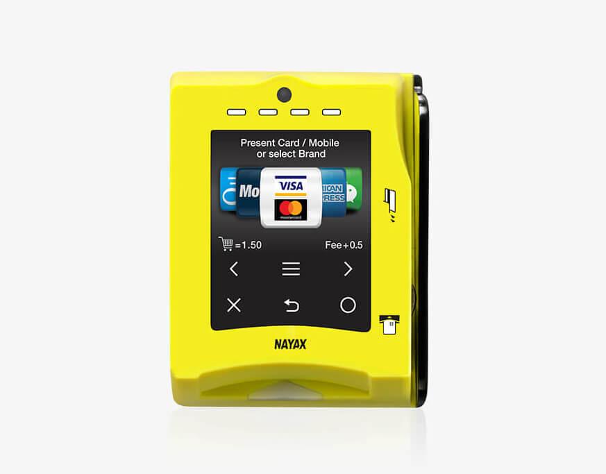 Nayax VPOS Touch Credit Card Reader Photo