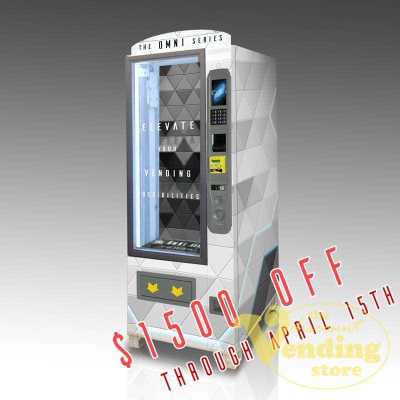 The OMNI Compact custom vending machine