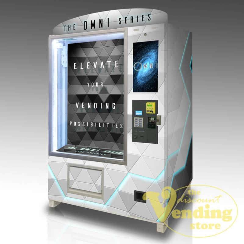 The OMNI Elite custom vending machine