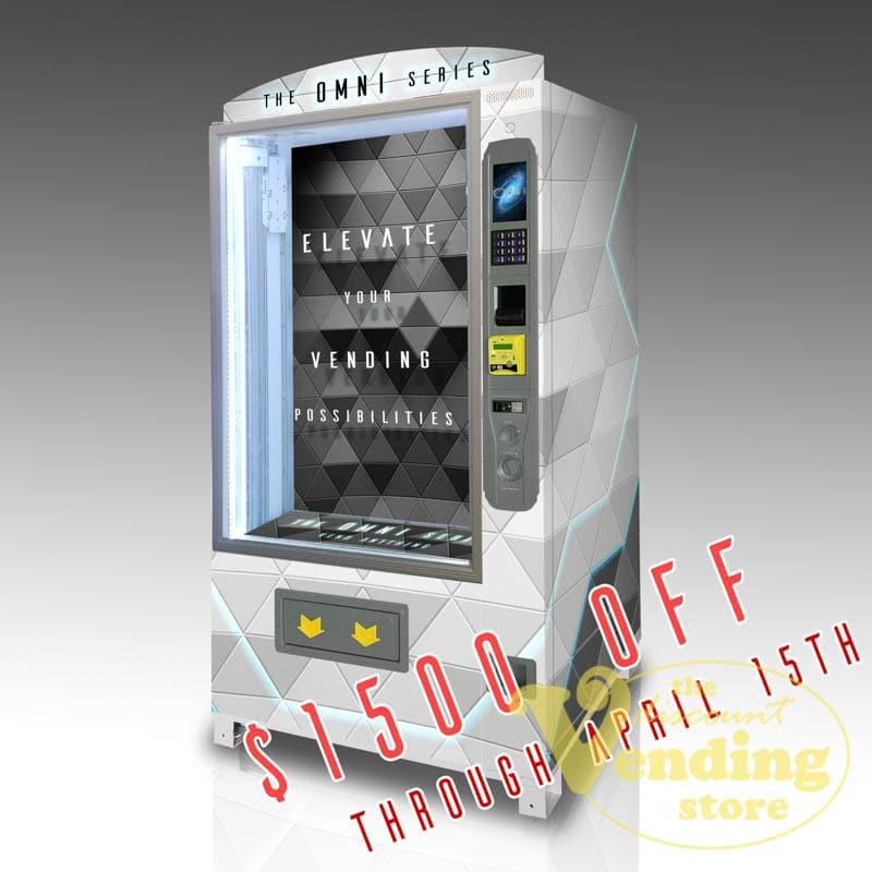 The OMNI Pro custom vending machine