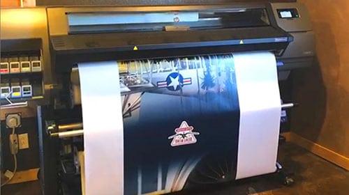 Custom vinyl graphic wraps for your vending machine.