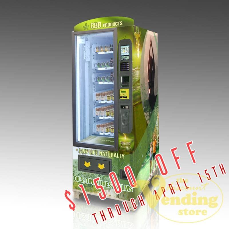The OMNI CBD Compact vending machine