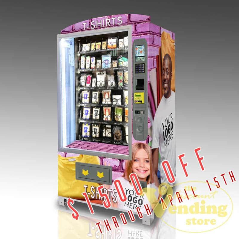 The OMNI CBD Pro vending machine