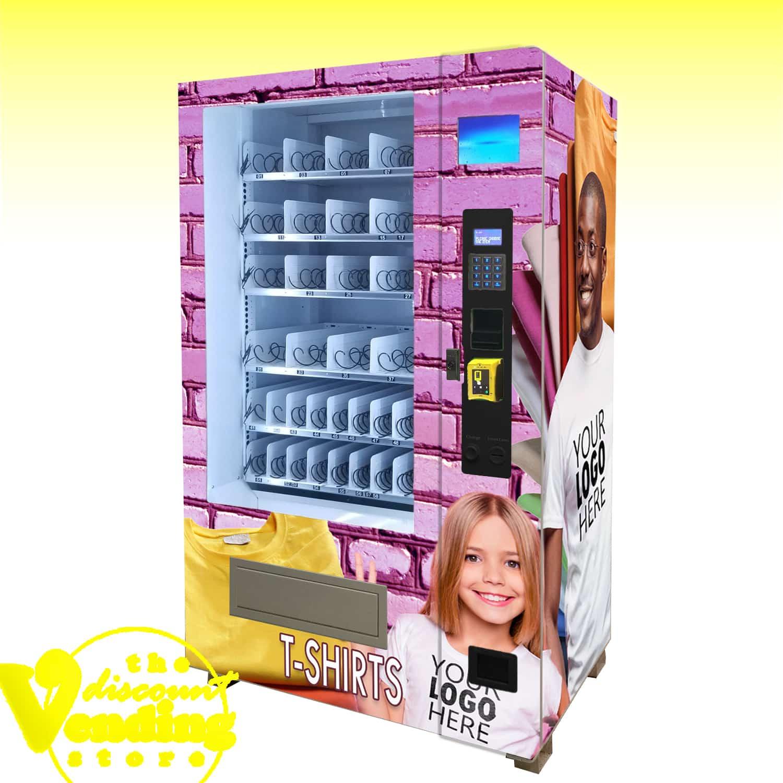 DVS Duravend 40-20 Clothing Vending Machine Photo