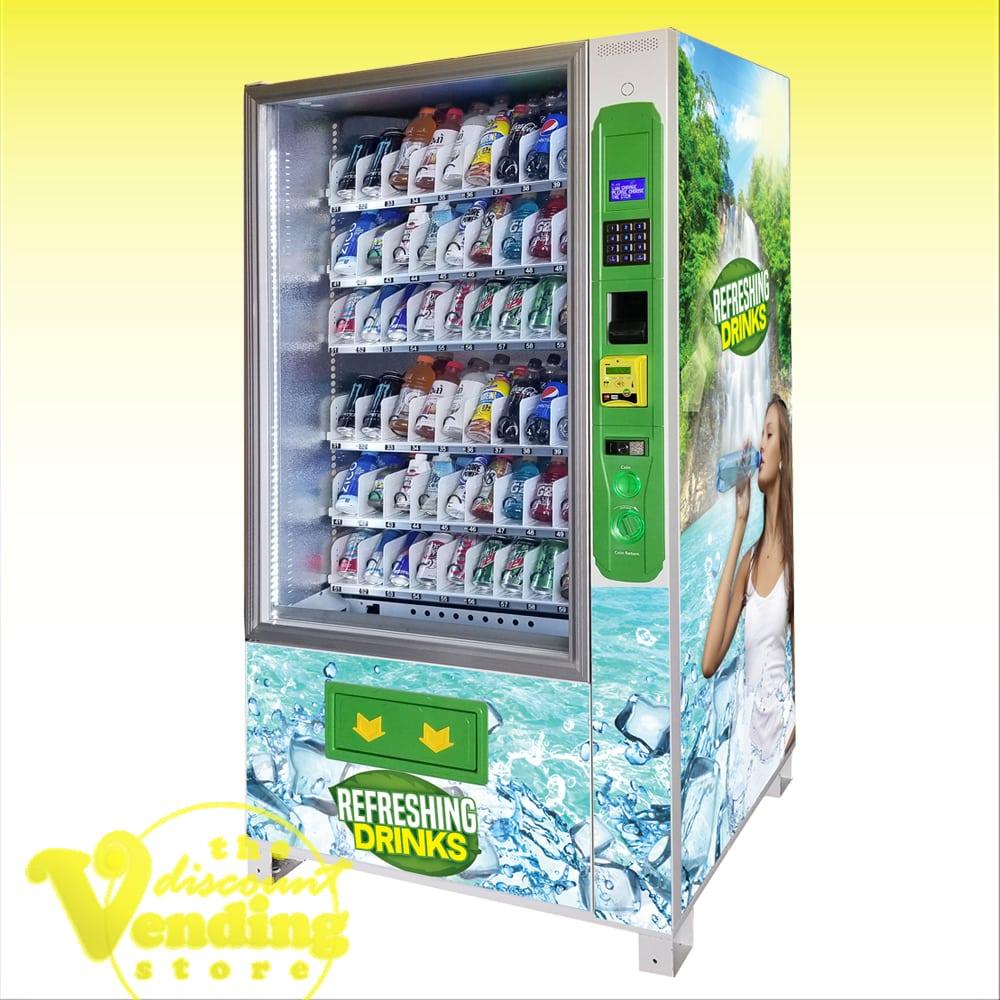 Refreshing Drinks & Soda Vending Machine