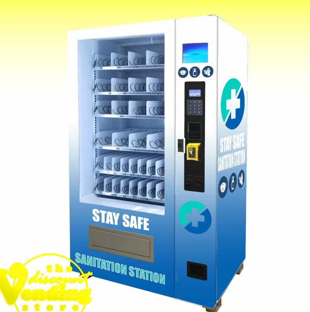 PPE face mask vending machine