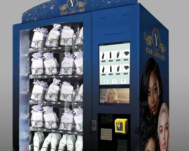 custom hair vending machines